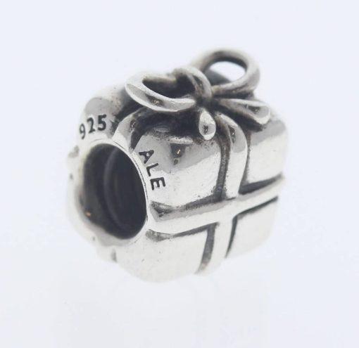 Pandora Sterling Silver Present Charm - 790300 - Retired ALE 925 3