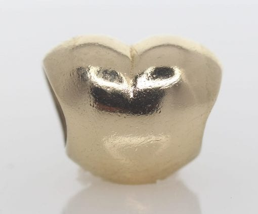 Pandora 14ct Gold Heart Charm - 750119 - ALE 585 2