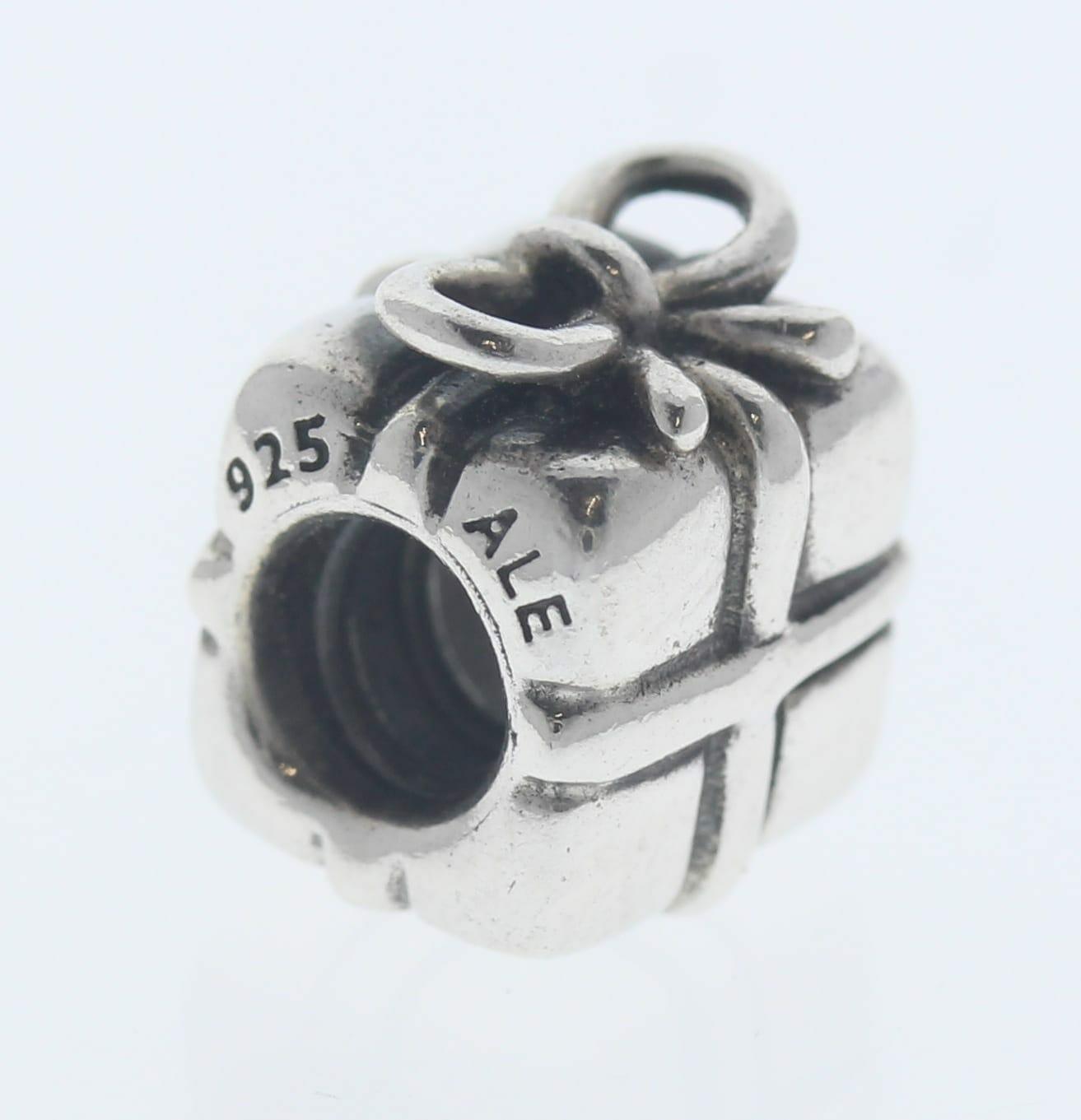 Pandora Sterling Silver Present Charm - 790300 - Retired ALE 925 2