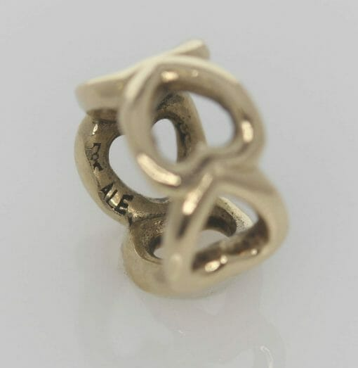 Pandora 14ct Open Heart Gold Spacer Charm - 750454 - ALE 585 2