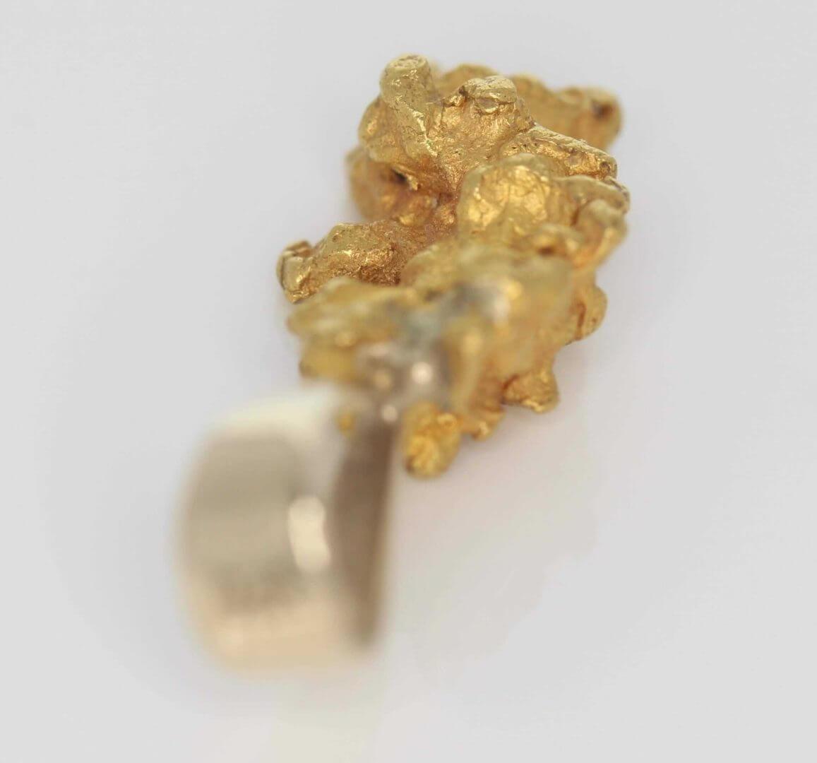 Natural Australian Gold Nugget Pendant - 4.50g 6