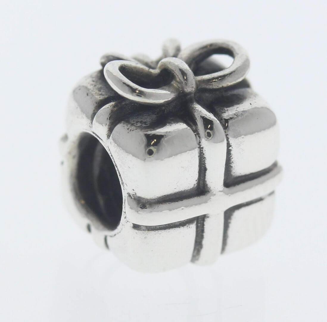 Pandora Sterling Silver Present Charm - 790300 - Retired ALE 925 1
