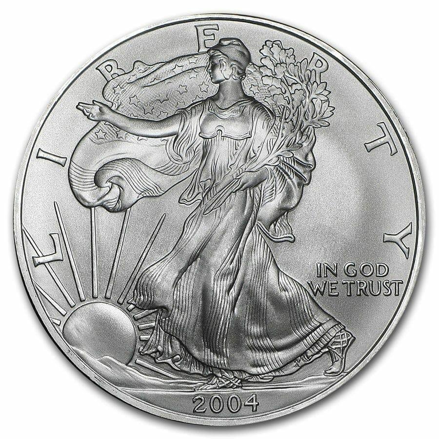 2004 American Eagle 1oz .999 Silver Bullion Coin ASE 1