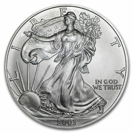 2003 American Eagle 1oz .999 Silver Bullion Coin ASE 1
