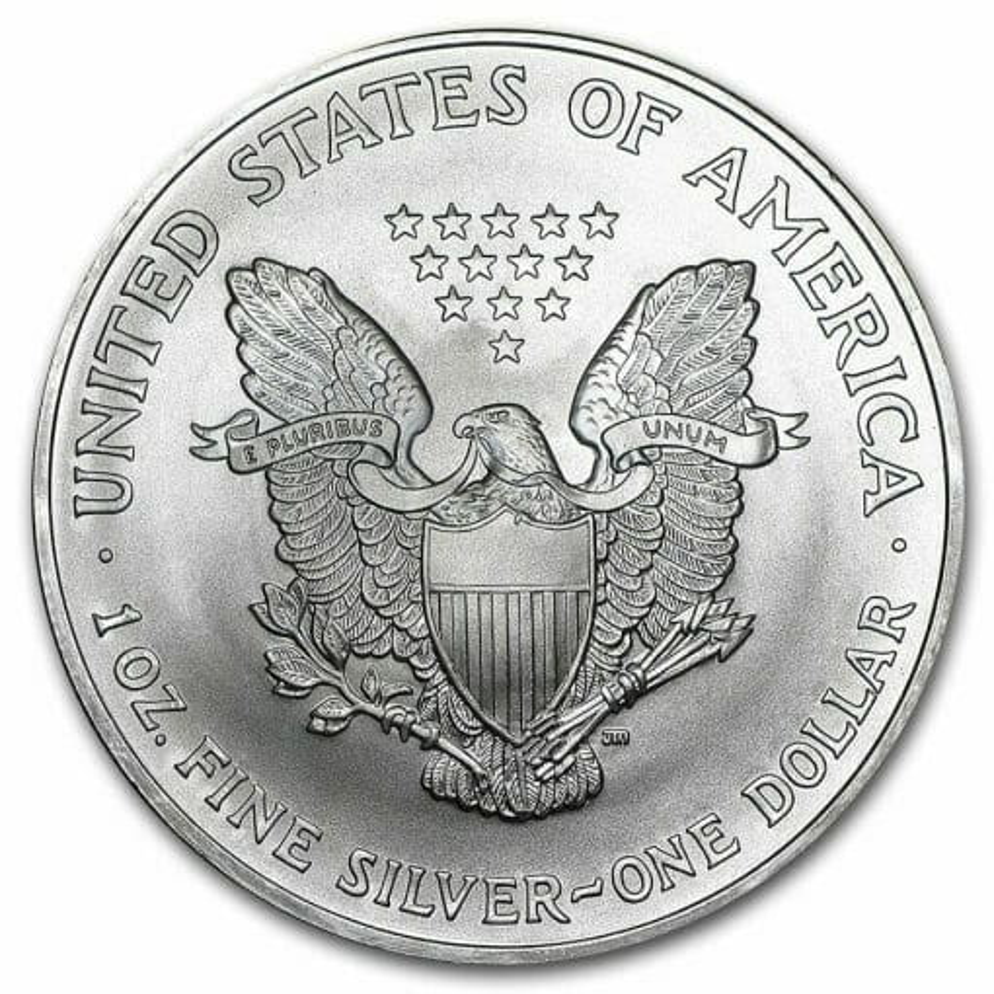 2004 American Eagle 1oz .999 Silver Bullion Coin ASE 2