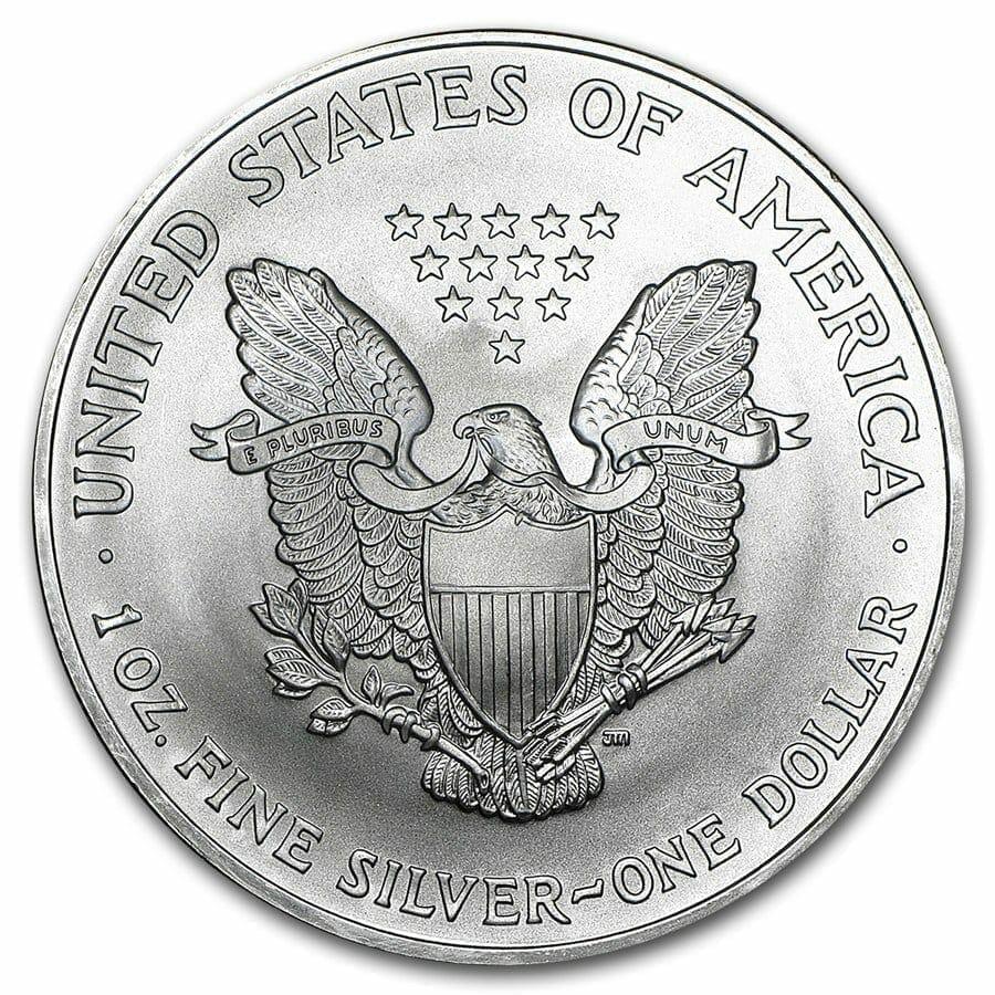 2004 American Eagle 1oz .999 Silver Bullion Coin ASE 3