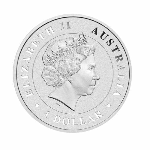 2015 Australian Kangaroo 1oz Silver Bullion Coin 2