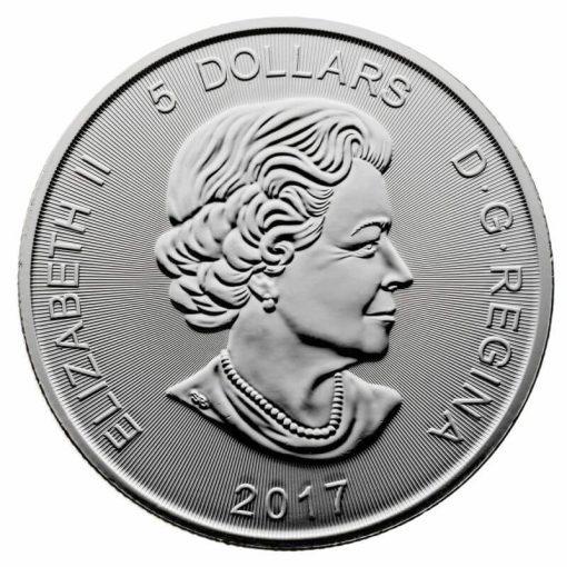 2017 Predator Series - Canadian Lynx 1oz .9999 Silver Bullion Coin - Royal Canadian Mint 2