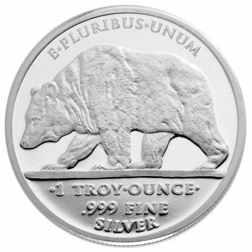 California Diamond Jubilee Half Dollar - Prospector Replica 1oz .999 Silver Round - Great American Mint 2