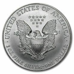 2000 American Eagle 1oz .999 Silver Bullion Coin ASE 3