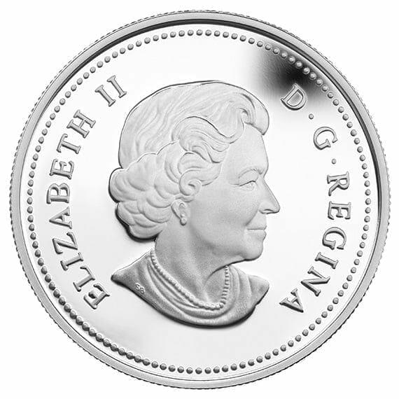 2014 $20 Autumn Falls 1oz .9999 Silver Coin - Royal Canadian Mint 5