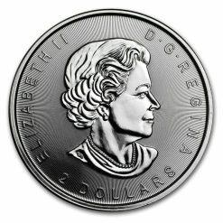 2017 Howling Wolf Moon 3/4oz .9999 Silver Bullion Coin - Royal Canadian Mint 5