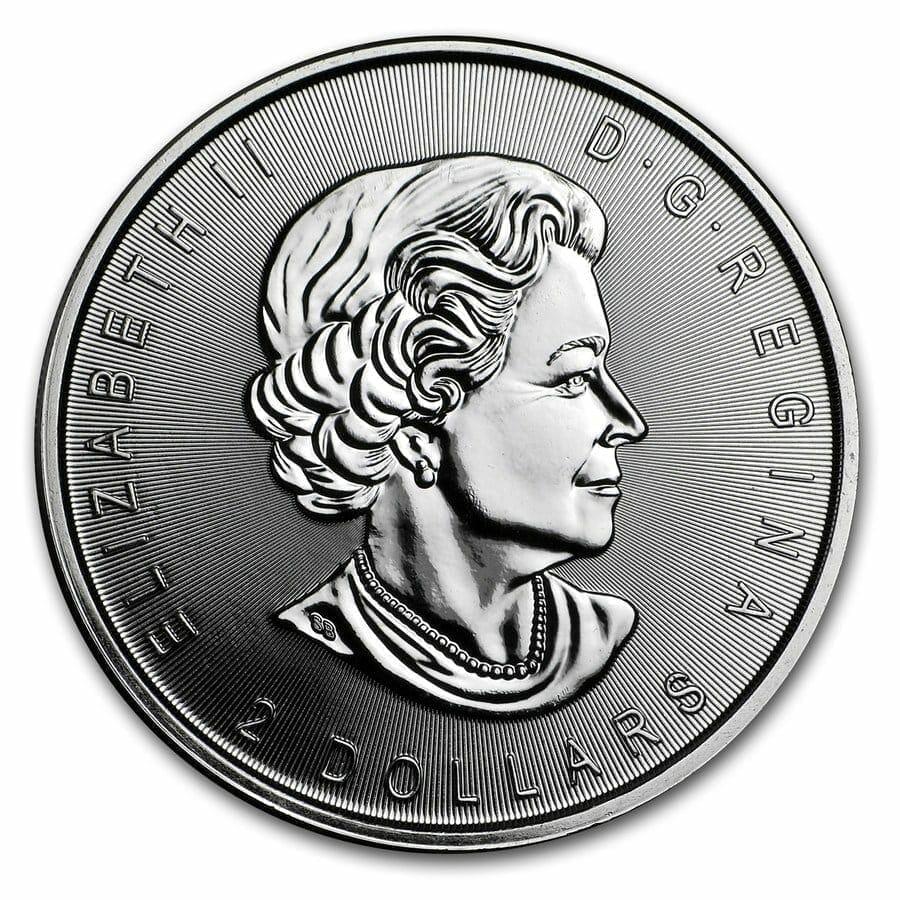 2017 Howling Wolf Moon 3/4oz .9999 Silver Bullion Coin - Royal Canadian Mint 3
