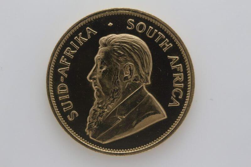1980 Krugerrand 1oz Fine Gold Coin - South African Mint 2