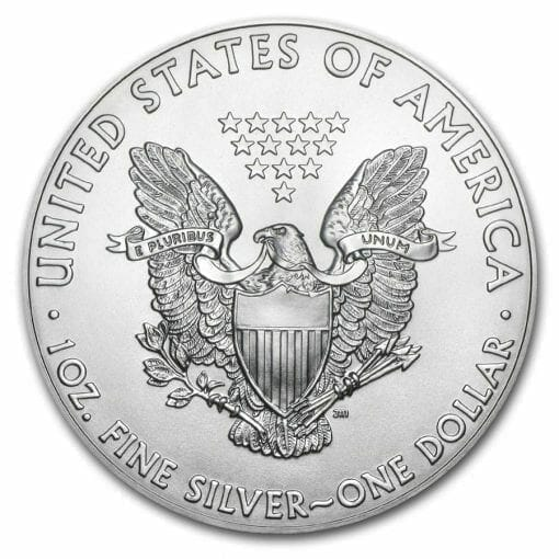 2018 American Eagle 1oz .999 Silver Bullion Coin ASE - US Mint 2