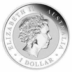 2017 Australian Kookaburra 1oz .9999 Silver Bullion Coin - The Perth Mint 3