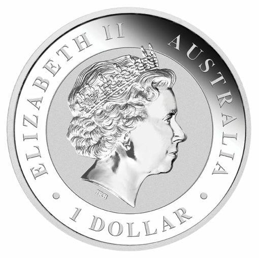 2017 Australian Kookaburra 1oz .9999 Silver Bullion Coin - The Perth Mint 2