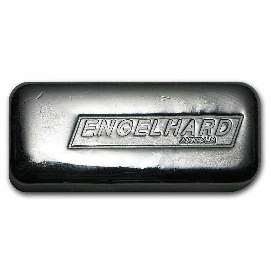 Engelhard Australia 1kg .999 Silver Cast Bullion Bar 1