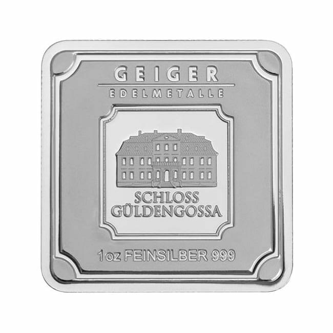 Geiger Edelmetalle 1kg .999 Silver Minted Bullion Bar 1