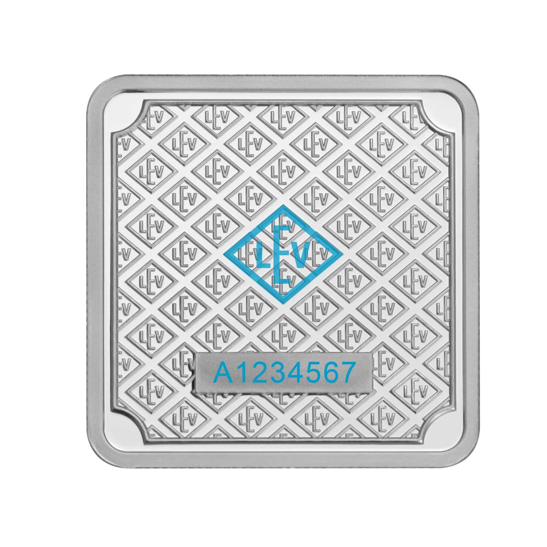 Geiger Edelmetalle 1oz .999 Silver Minted Bullion Bar 4