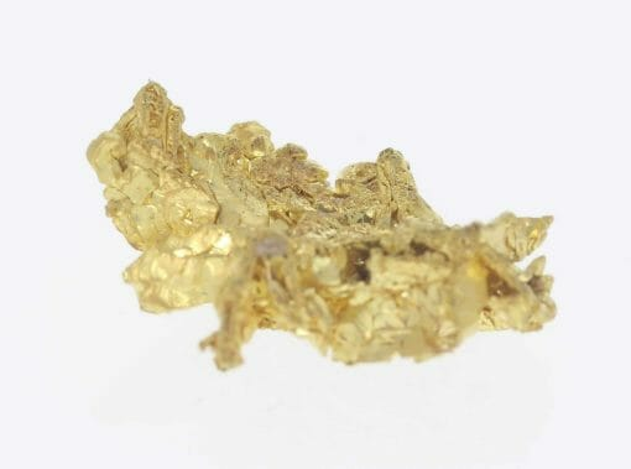 Natural Western Australian Gold Nugget - Crystalline Gold - 3.33g 4