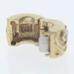 Pandora 14ct Gold Clip Charm with Diamonds Babbling Brook - 750418D - Retired ALE 585 9