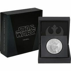 2016 Star Wars Classic - Yoda 1oz .999 Silver Proof Coin - New Zealand Mint 7