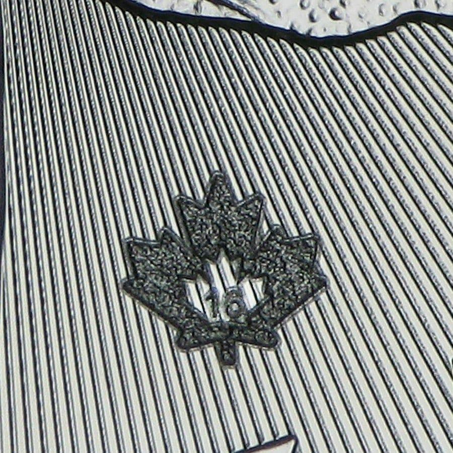 2016 Maple Leaf 1oz .9999 Silver Bullion Coin 5