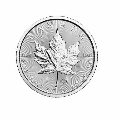 2018 Maple Leaf 1oz .9999 Silver Bullion Coin - Royal Canadian Mint 1