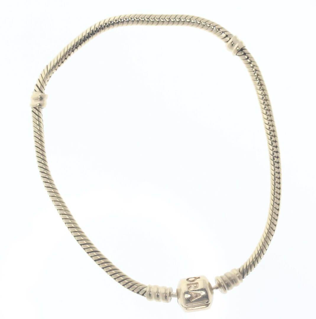 Pandora Moments 14ct Gold Charm Bracelet - 550702 - ALE 585 1