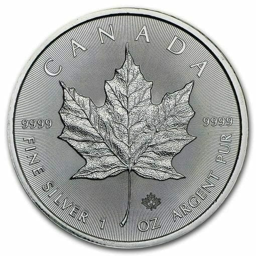2016 Maple Leaf 1oz .9999 Silver Bullion Coin 1