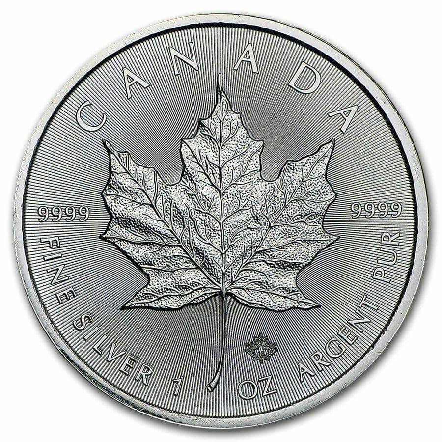 2016 Maple Leaf 1oz .9999 Silver Bullion Coin 1