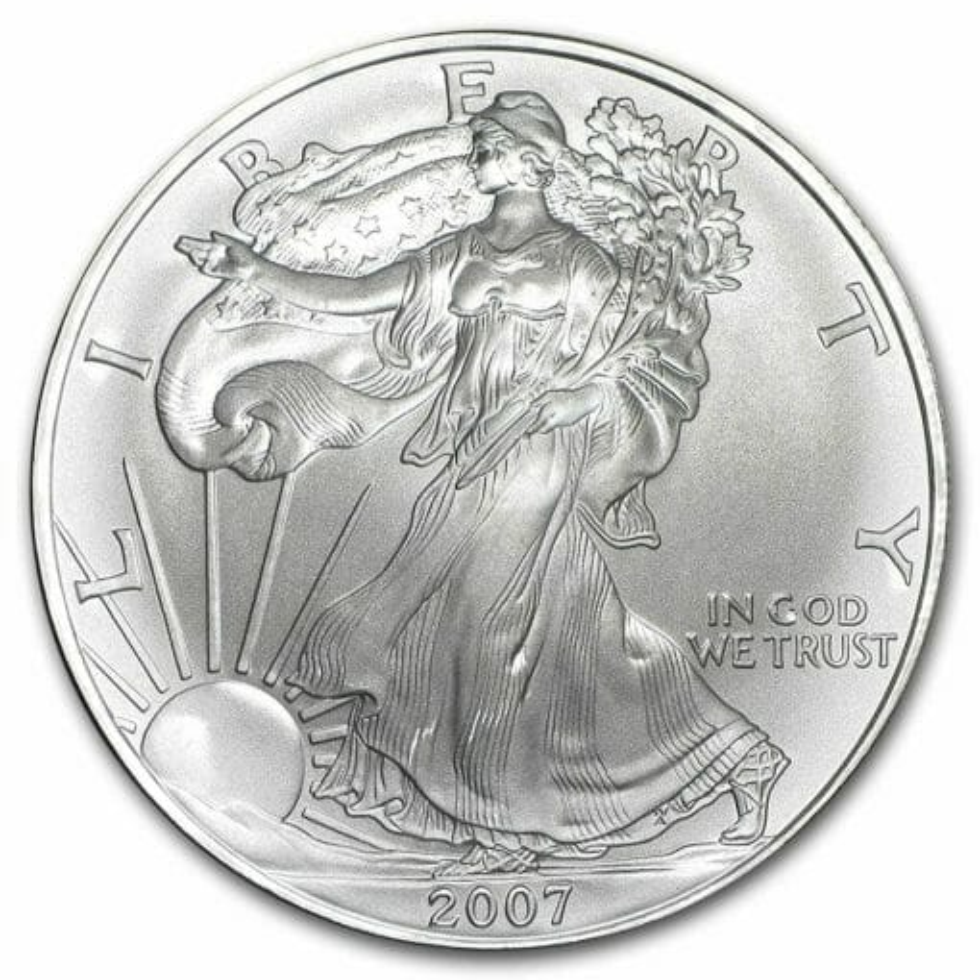 2007 American Eagle 1oz .999 Silver Bullion Coin ASE 1