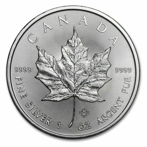 2015 Maple Leaf 1oz .9999 Silver Bullion Coin – Royal Canadian Mint 1