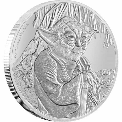 2016 Star Wars Classic - Yoda 1oz .999 Silver Proof Coin - New Zealand Mint 1