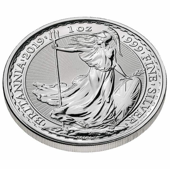 2019 Britannia 1oz .999 Silver Coin 3