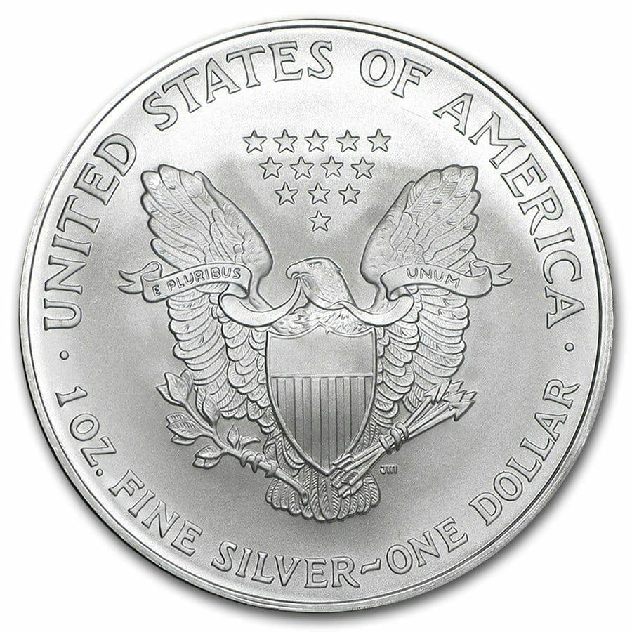 2007 American Eagle 1oz .999 Silver Bullion Coin ASE 2