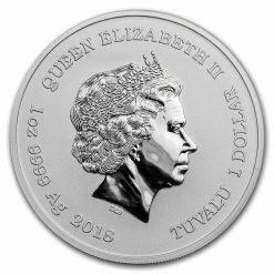 2018 Marvel Series - Deadpool - 1oz .9999 Silver Bullion Coin - The Perth Mint 3