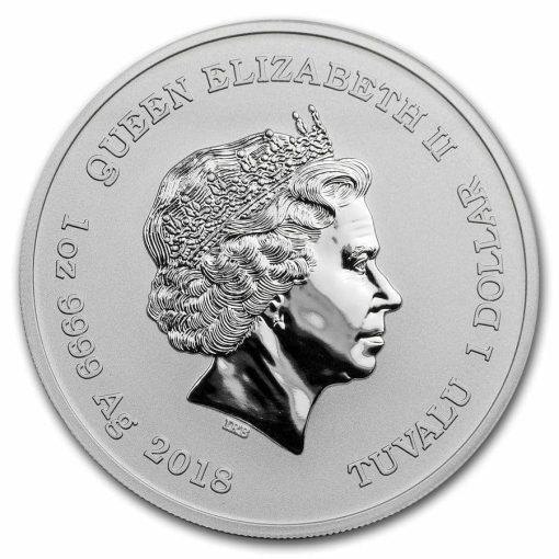 2018 Marvel Series - Deadpool - 1oz .9999 Silver Bullion Coin - The Perth Mint 2