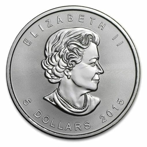 2015 Maple Leaf 1oz .9999 Silver Bullion Coin – Royal Canadian Mint 2