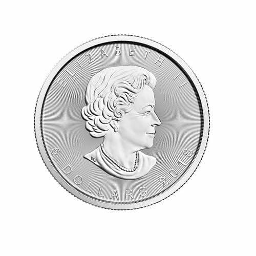 2018 Maple Leaf 1oz .9999 Silver Bullion Coin - Royal Canadian Mint 2
