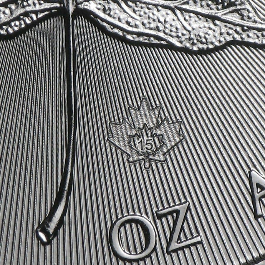 2015 Maple Leaf 1oz .9999 Silver Bullion Coin – Royal Canadian Mint 3