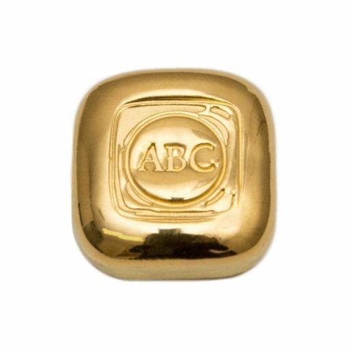 ABC 1oz .9999 Gold Cast Bullion Bar 1