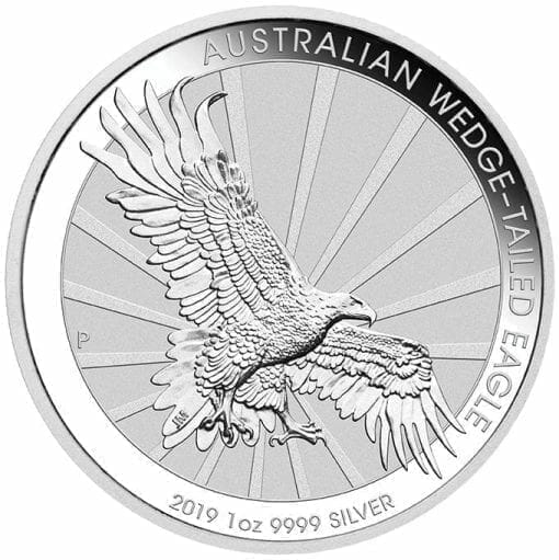 2019 Australian Wedge-Tailed Eagle 1oz .9999 Silver Bullion Coin 1