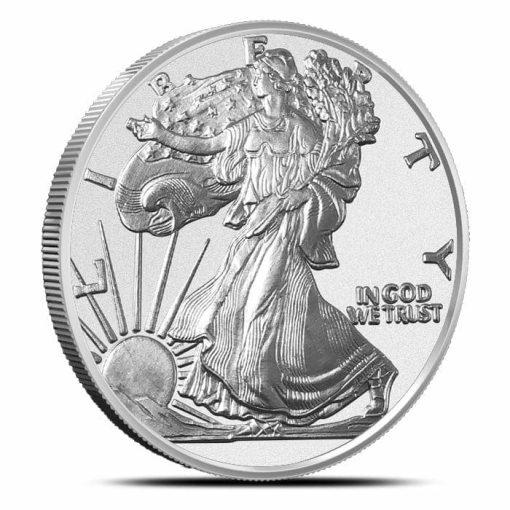 Walking Liberty 1oz .999 Silver Bullion Coin - Highland Mint 1
