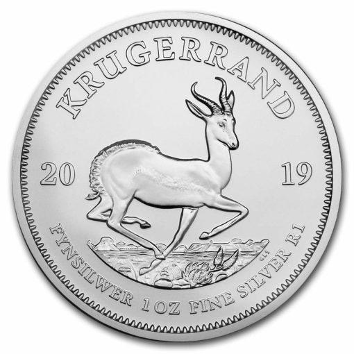 2019 Silver Krugerrand 1oz .999 Silver Bullion Coin 1