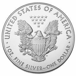 2019 American Silver Eagle 1oz .999 Silver Bullion Coin ASE 3