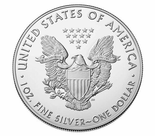 2019 American Silver Eagle 1oz .999 Silver Bullion Coin ASE 2