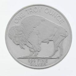 Buffalo / Indian Head 1oz .999 Silver Bullion Coin - Highland Mint 3