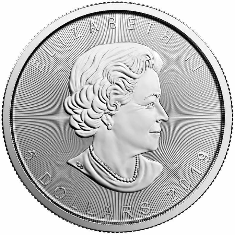 2019 Maple Leaf 1oz .9999 Silver Bullion Coin - Royal Canadian Mint 2
